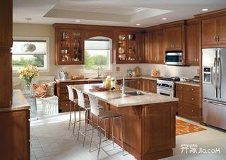 90平混搭二居室厨房装修效果图