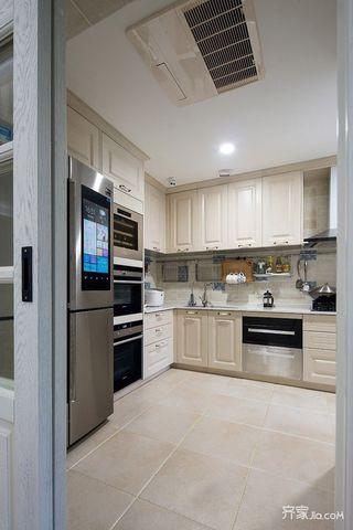 150平米美式风格厨房装修效果图