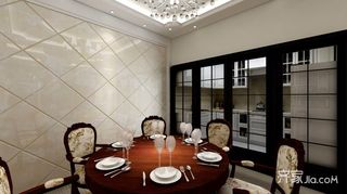 150平米欧式风格餐厅装修效果图