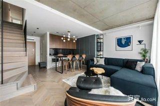 简约风复式公寓装修设计图