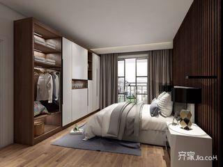 二居室简约风格卧室装修效果图