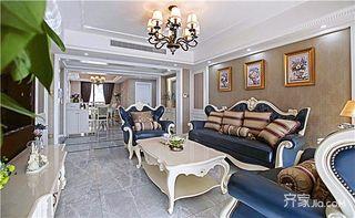 三居室欧式风格装修设计图