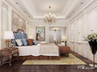 新古典风格三居室装修卧室效果图