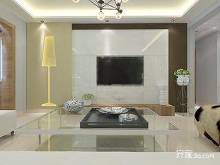 120平现代风格三居装修效果图
