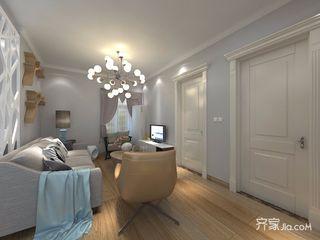 北欧混搭风格三居客厅装修效果图