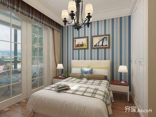 地中海风格两居室卧室装修效果图