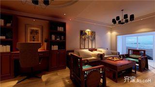 90平米简约两居室装修设计图