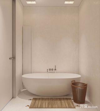 小户?#22270;?#31616;风格装修浴缸设计图