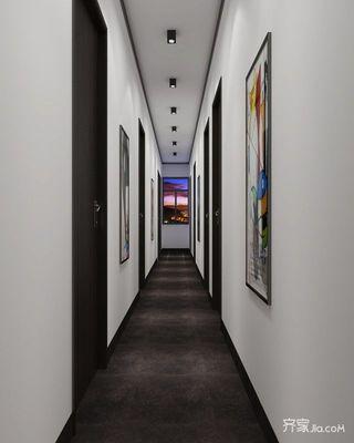 简约青年公寓装修走廊设计图
