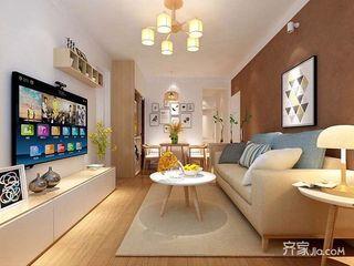 两居室现代简约风装修效果图