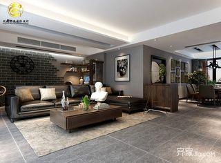 大户型后现代主义客厅装修效果图