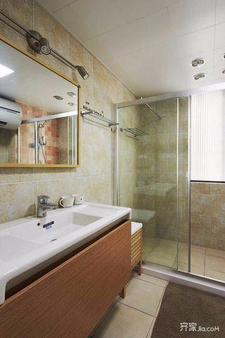 98㎡简约二居室装修卫生间设计图