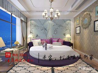 166平美式风格卧室装修效果图