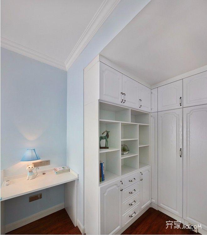 两居室美式风格家书房效果图