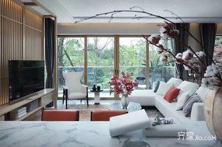 新中式别墅装修设计效果图