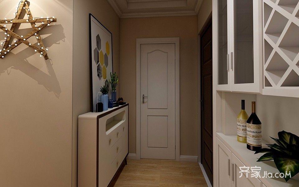 一居室简约风格玄关装修效果图