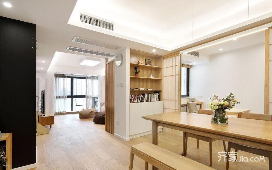 80平米日式两居室装修效果图