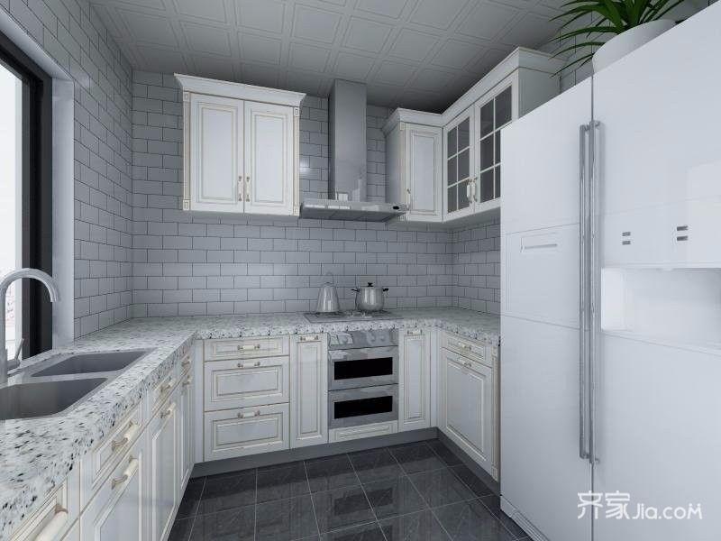 140平米现代简约风厨房装修效果图