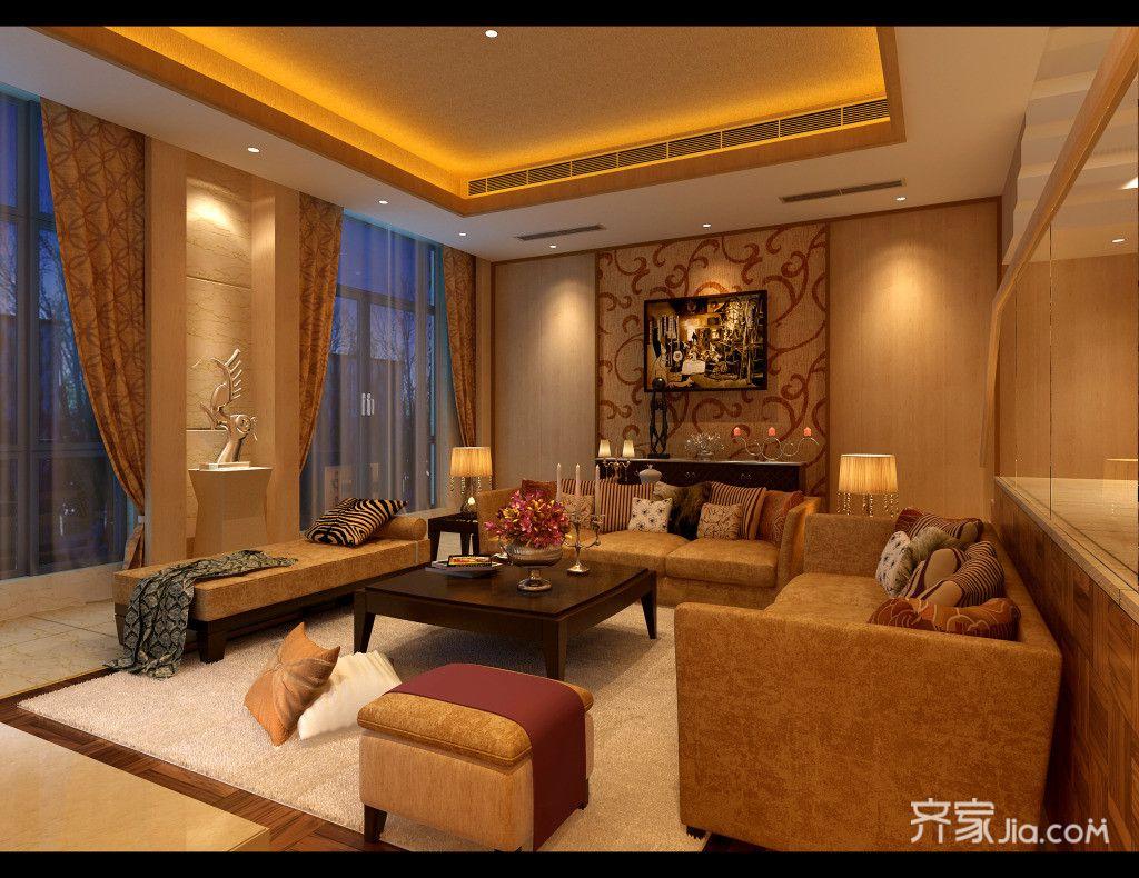 宜家二居室装修客厅效果图
