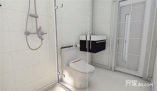 73平简约三居室卫生间装修效果图