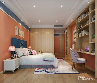 北欧三居室装修阁楼设计