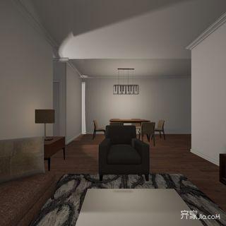 简约二居室装修效果图