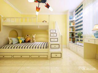 北欧风二居室设计儿童房效果图