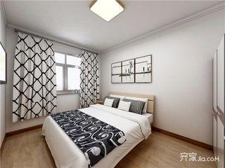 55平米简约之家 黑白装点