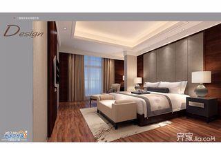 中式别墅设计卧室效果图