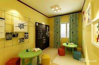 简约三居室装修1岁儿童房装潢图
