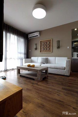 一居室日式风小家客厅实景图