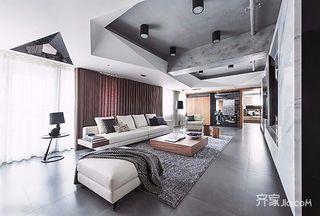 极简黑白灰 150平简约风格之家