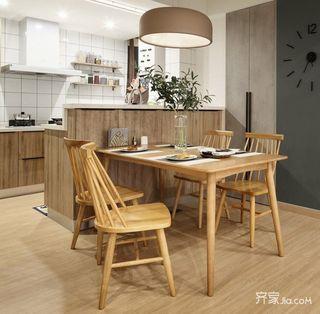 60平宜家风格装修餐厅设计图