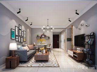 二居室简约装修客厅效果图