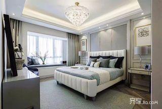 148平米简约三居室装修卧室欣赏图