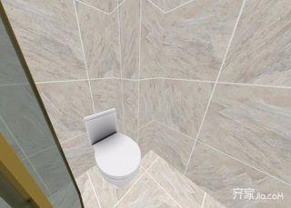96平米简约风格二居室装修卫生间装潢图