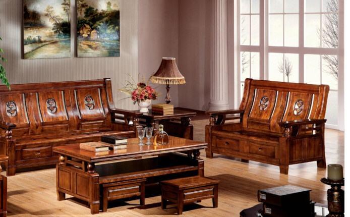 十大实木家具品牌中的任何一个都可以给你的三居室两厅房的家居装饰增加压力。
