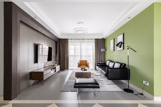 130㎡现代三居装修效果图