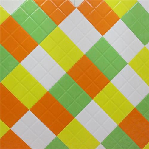 彩色瓷砖搭配技巧