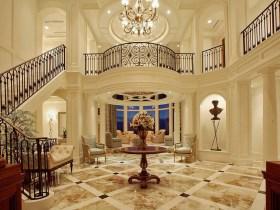欧式别墅装修效果图赏析 小小的窗帘就能让家居变美