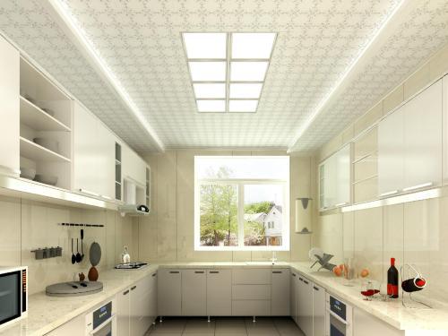 厨房不吊顶可以吗 厨房吊顶材料有哪些_a