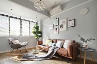 北欧风格二居装修效果图