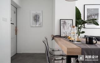 北欧风格两居装修餐桌图片