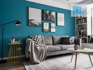 90平三居装修设计 北欧新风尚