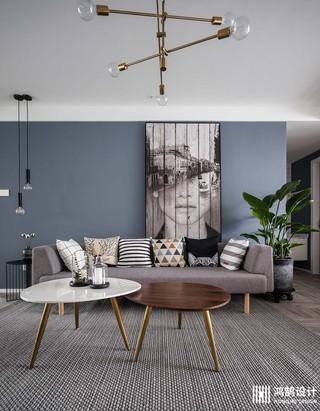 100㎡北欧风格家沙发图片