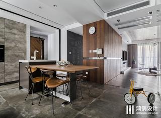 现代工业风三居之家餐桌椅图片