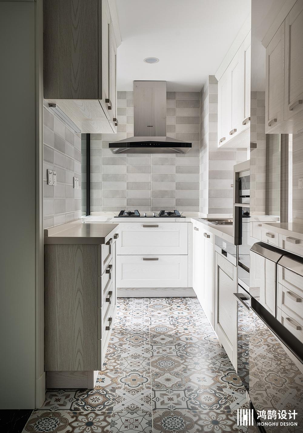 美式两居装修厨房装潢图