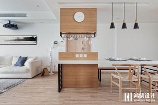 110㎡日式风格家吧台设计