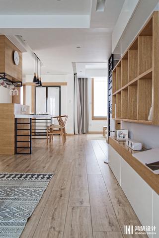110㎡日式风格家客厅过道