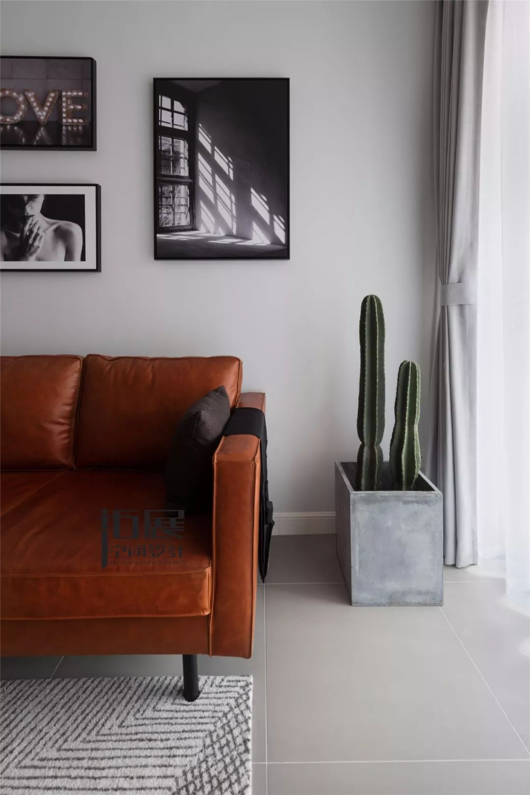 小户型北欧风格装修客厅一角